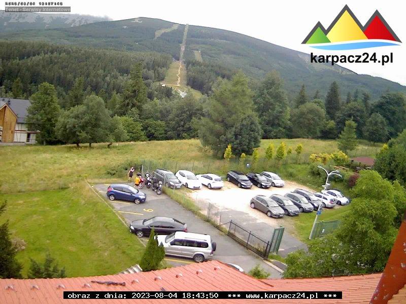 Webcam Skigebiet Karpacz cam 5 - Riesengebirge