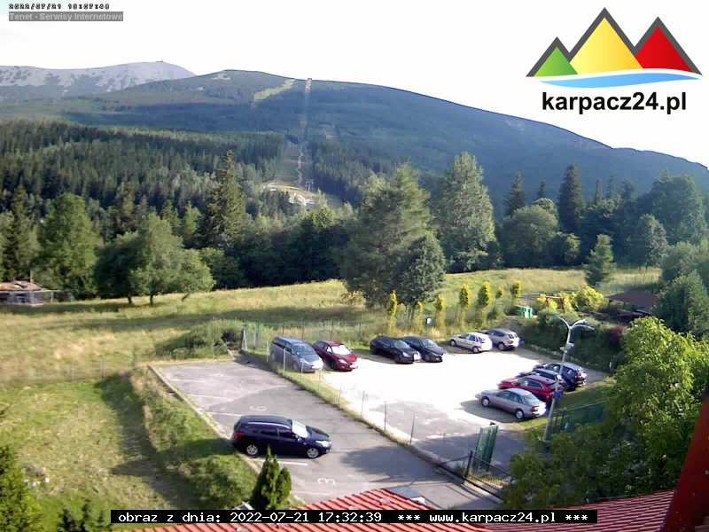 Webcam Skigebied Karpacz cam 9 - Reuzengebergte
